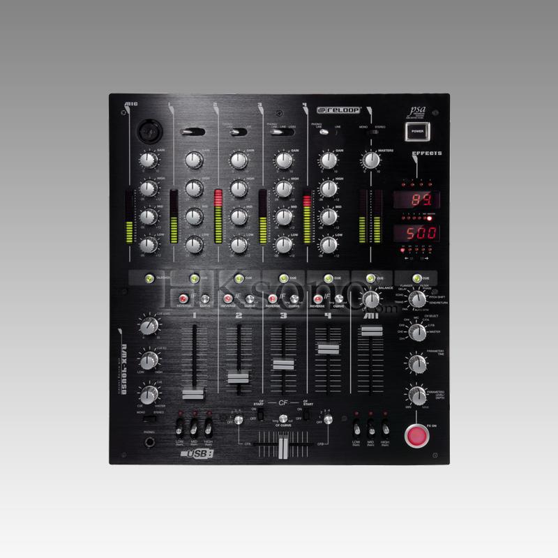 Console de mixage Reloop vue de face HKsono